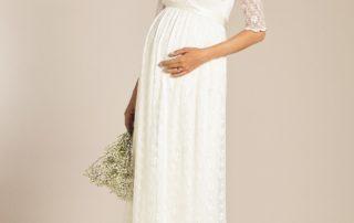 Tehotenske svatebni saty - Studio Agnes