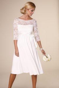 Svatební těhotenské šaty - Studio Agnes