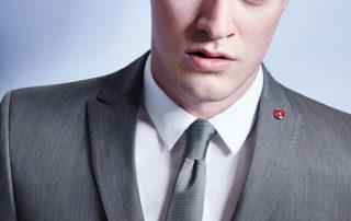 pansky oblek sedy - studioagnes