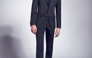 pánský oblek černý - studioagnes