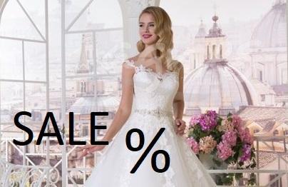 svatební šaty - Outlet