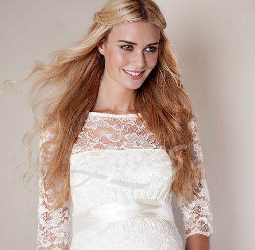 Amelia short - těhotenské svatební šaty krátké - Agnes 4a5fef5c2dd