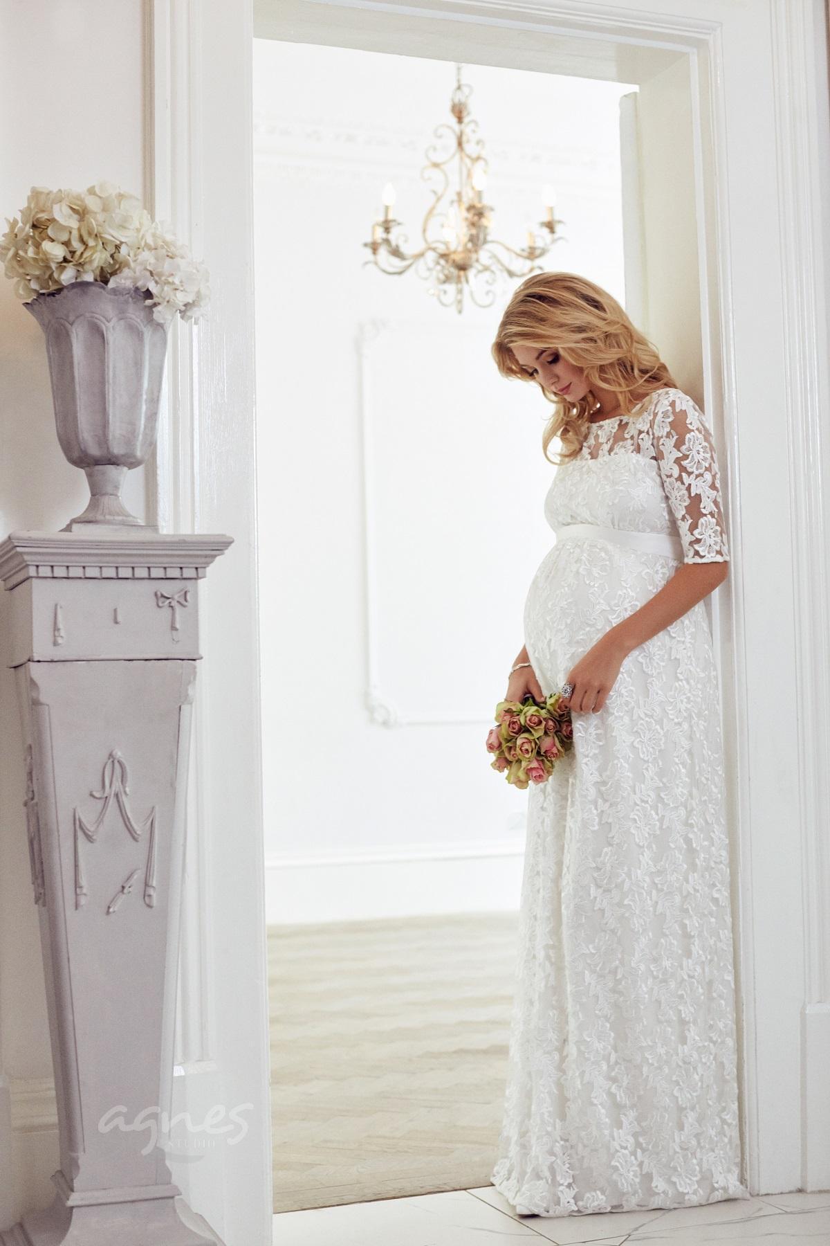 7c669cd449fa Asha těhotenské svatební šaty