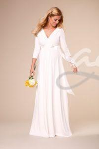 pregnant-wedding-dress-Willow-Gown-Long-Ivory