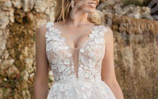 svatební šaty splývavé
