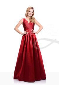 šaty christian koehlert červené
