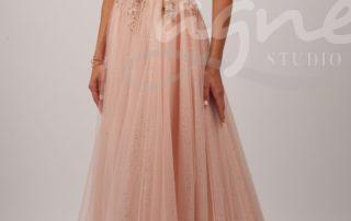 společenské šaty růžové