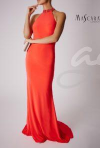 společenské šaty červené praha dlouhé