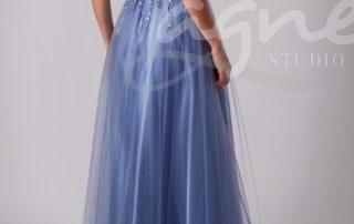 šaty na maturitní ples levandulové