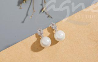 perlové naušnice