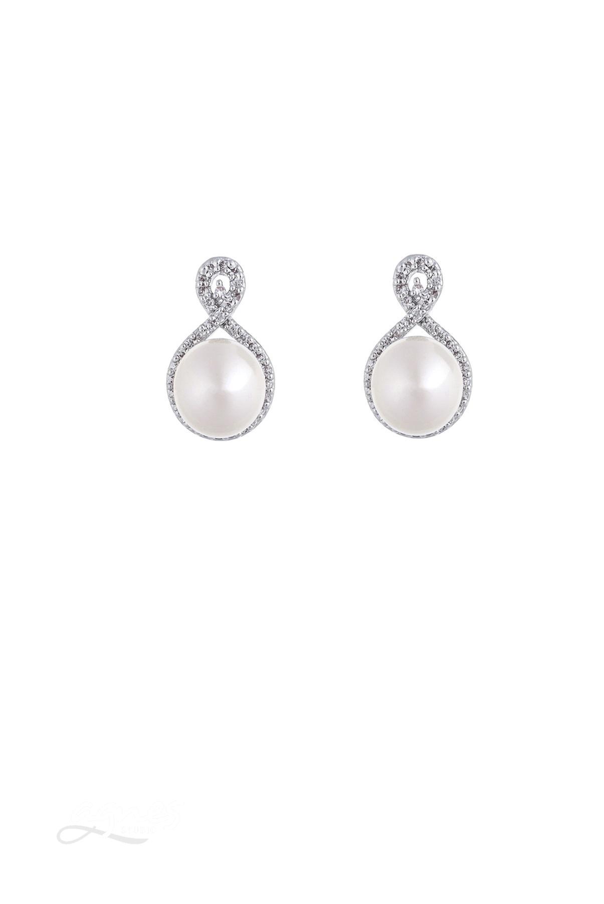 naušnice s perlou