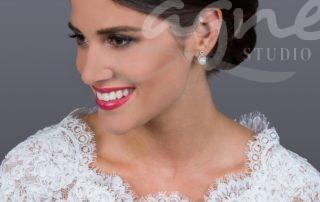 naušnice pro nevěstu