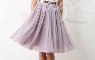 tylová sukně na svatbu