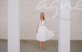 svatební šaty na úřad